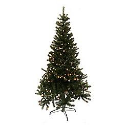 Festive - Green Grenoble prelist LED pine Christmas tree