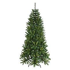 Festive - 6ft green heartwood spruce Christmas tree