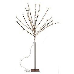 Festive - LED rose gold blossom tree