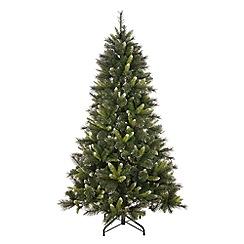 Festive - 7ft silver tip Christmas tree