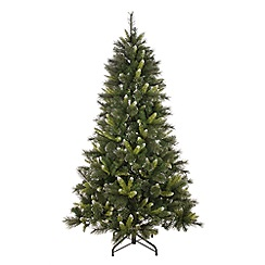 Festive - 6ft silver tip Christmas tree
