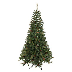 Festive - 7ft Denmark with pinecone Christmas tree