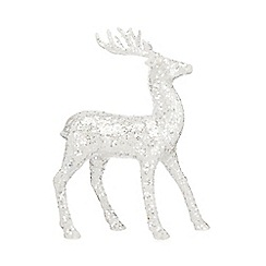 Home Collection - Sequin standing reindeer Christmas decoration