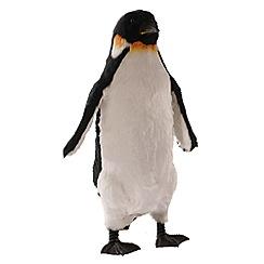 Festive - Large multi-coloured emperor penguin Christmas figurine