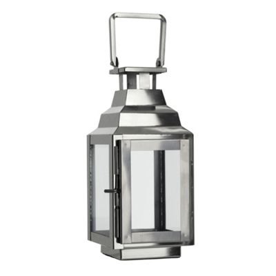 This classically designed mini lantern features a tea light holder and one side window. by Debenhams 304025200097