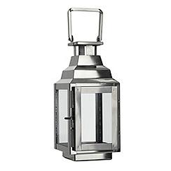 Home Collection - Mini decorative silver lantern