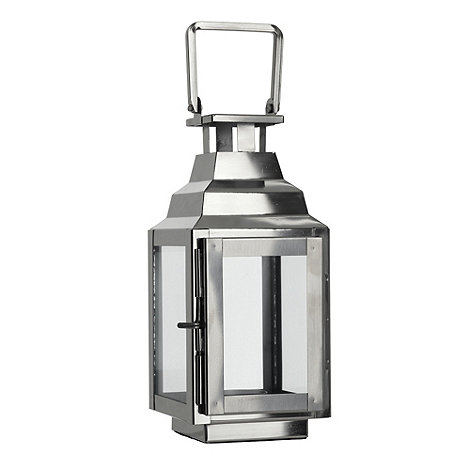 Home Collection - Mini decorative silver lantern