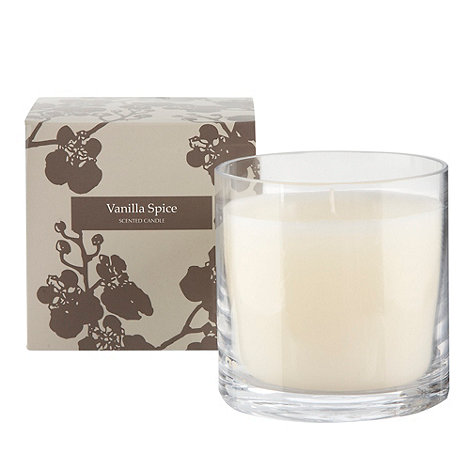 Debenhams - Natural +Vanilla spice+ gift candle