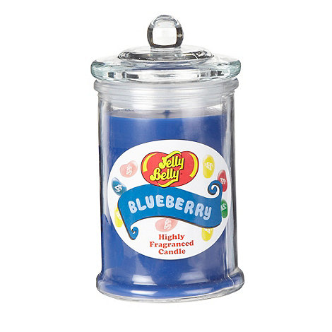Jelly Belly - Blue +Blueberry+ jar candle