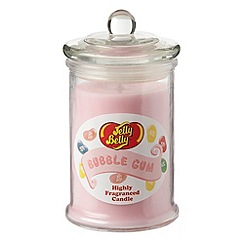 Jelly Belly - Pink 'Bubble Gum' jar candle