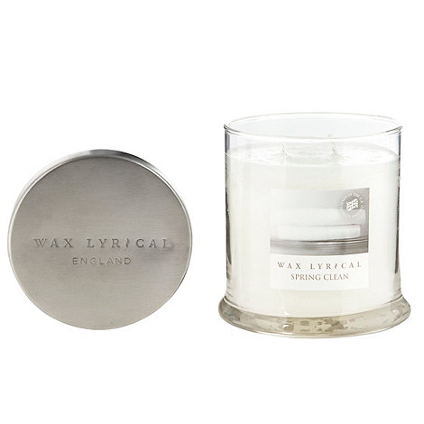 Wax Lyrical - White +Spring Clean+ medium scented candle