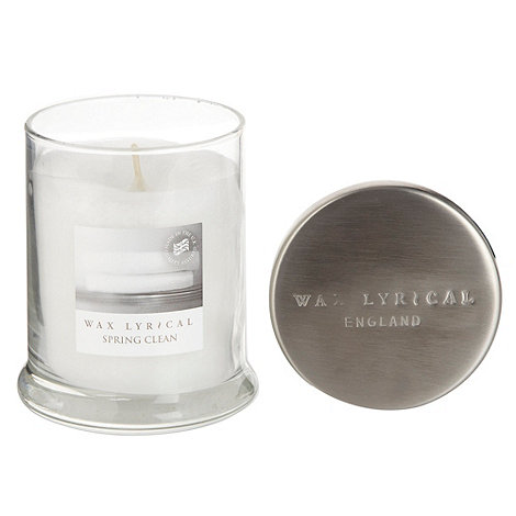 Wax Lyrical - White +Spring Clean+ scented candle