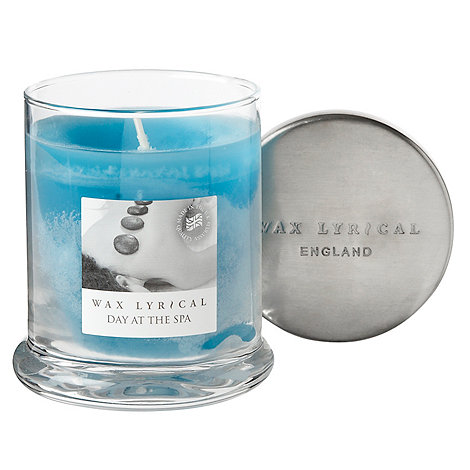 Wax Lyrical - Blue +Day At The Spa+ candle