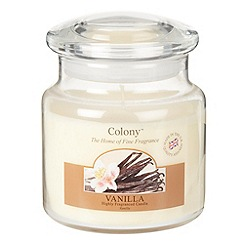 Colony - Cream 'Vanilla' jar candle
