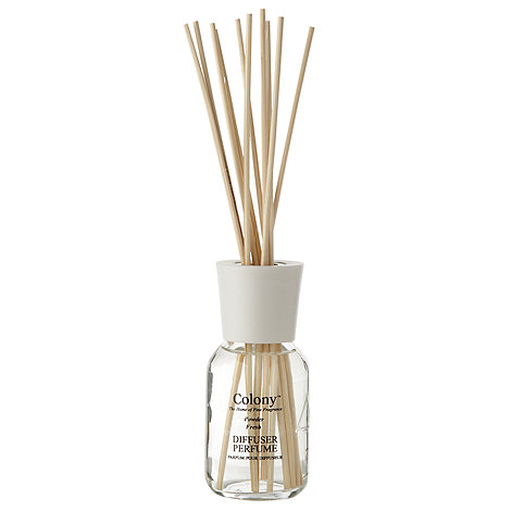 Colony - +Powder Fresh+ reed and oil perfume diffuser