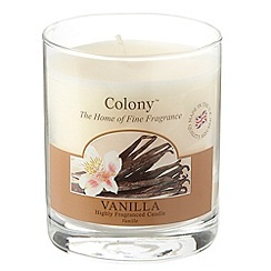 Colony - Cream 'Vanilla' small jar candle