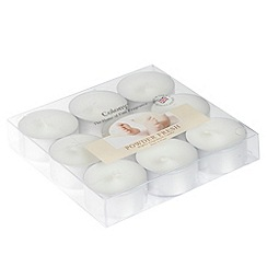Colony - Set of nine 'Powder fresh' scented tea lights
