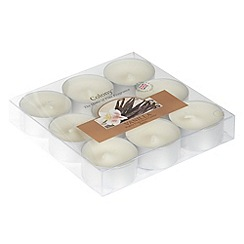 Colony - Set of nine vanilla scented tea lights