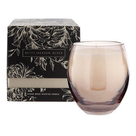 Betty Jackson.Black - Cedar wood scented candle