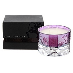 Betty Jackson.Black - Large purple agapanthus scented candle