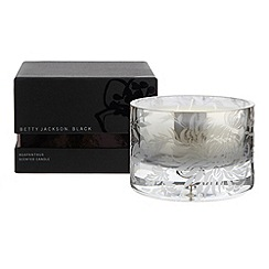 Betty Jackson.Black - Large light grey agapanthus scented candle