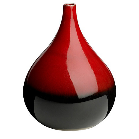 RJR.John Rocha - Red reactive vase