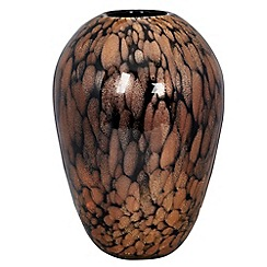 Star by Julien MacDonald - Black glitter flecks vase