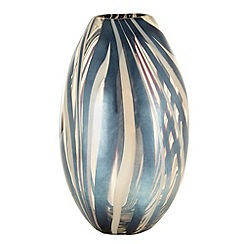 Star by Julien Macdonald - Gold wavy striped vase