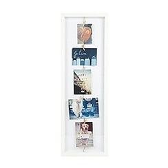 Umbra - White wooden line line photo frame