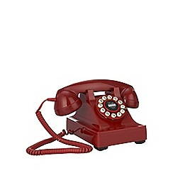 Wild & Wolf - Red 1930s 'Series 302' phone