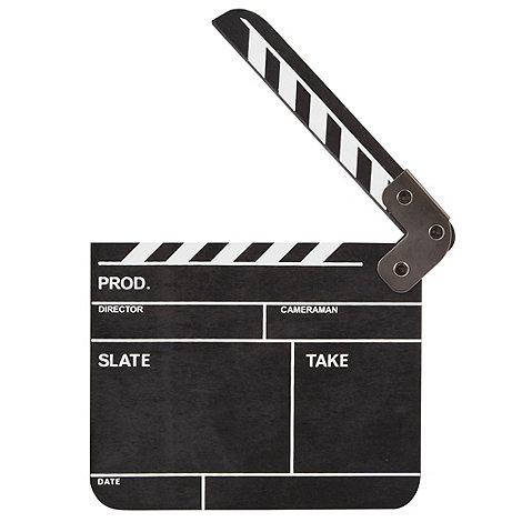 Ben de Lisi Home - Black small clapper board