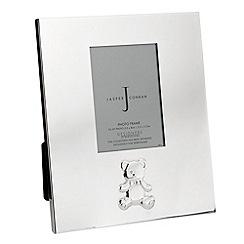 J by Jasper Conran - Silver plated teddy bear frame