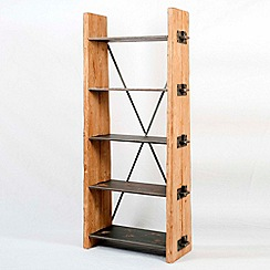 Heaven Sends - Tall wooden bookshelf
