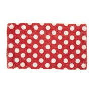 Red spotted doormat