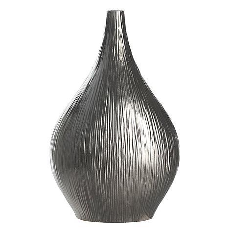 RJR.John Rocha - Silver ceramic bottle vase
