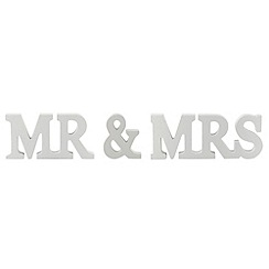 Sass & Belle - White 'Mr & Mrs' letters