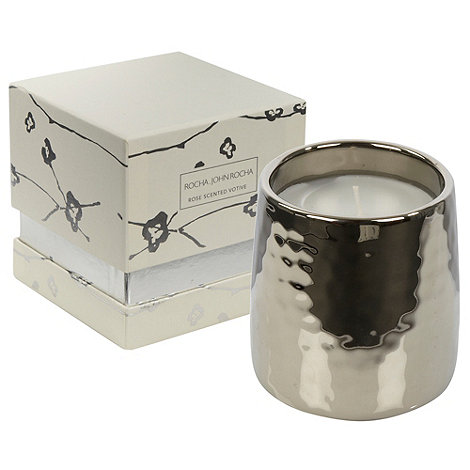 RJR.John Rocha - Rose scented votive candle