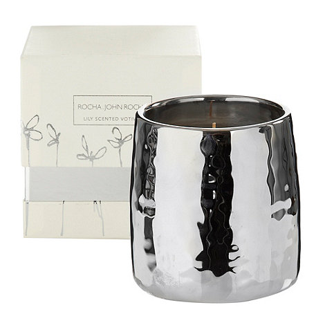 RJR.John Rocha - Lily scented votive candle