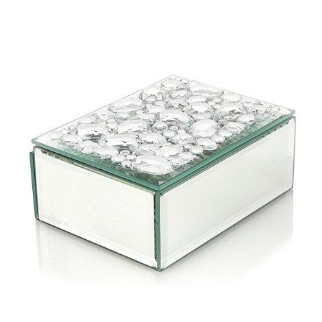 Star by Julien Macdonald - Silver mirrored gem trinket box