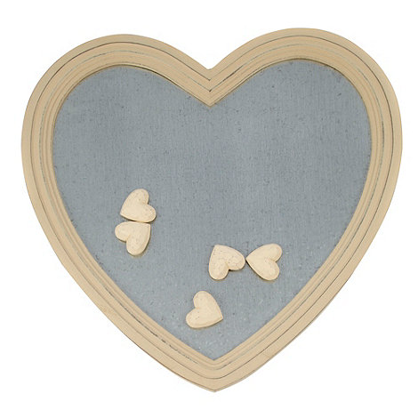 Parlane - Wood magnetic heart board