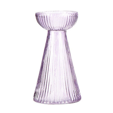 Nkuku - Purple glass bulb vase