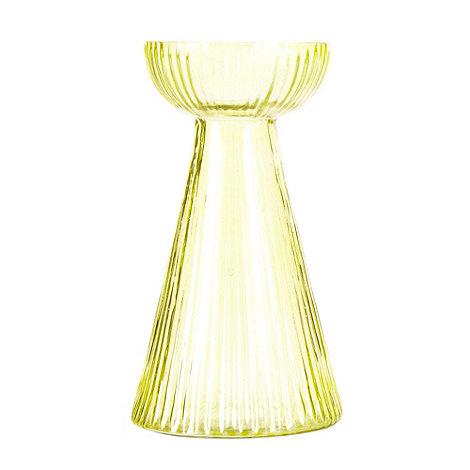 Nkuku - Green glass bulb vase