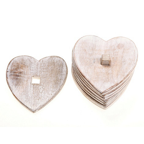 Sass & Belle - Wooden heart mats
