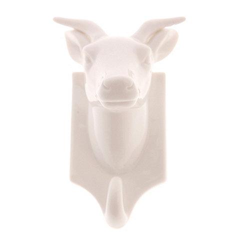 Sass & Belle - Ceramic stag hook