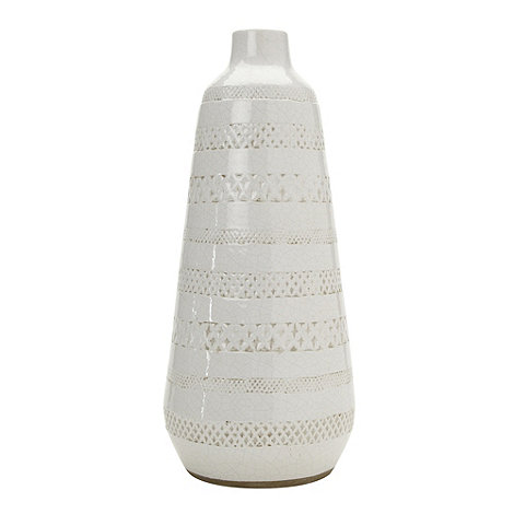 Parlane - White +Misty+ large ceramic vase