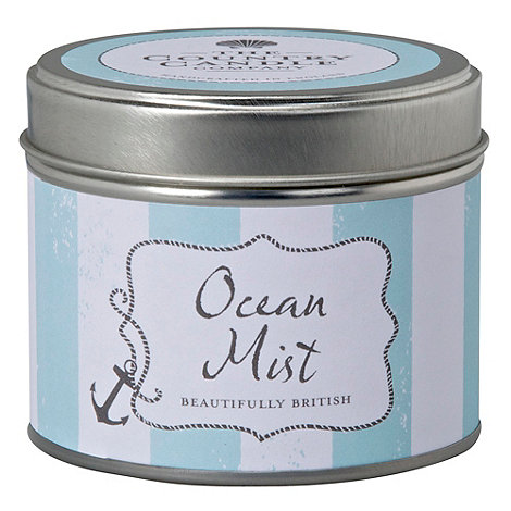 Country Candles - +Ocean Mist+ candle tin