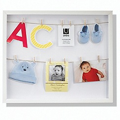 Umbra - White clothes line picture frame