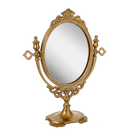 Butterfly Home by Matthew Williamson - Gold tilted oval mirror