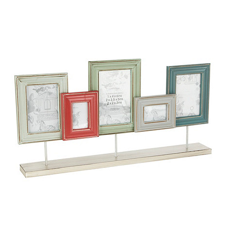 Debenhams - Wooden set of five standing frames