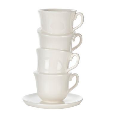 Ceramic teacup vase